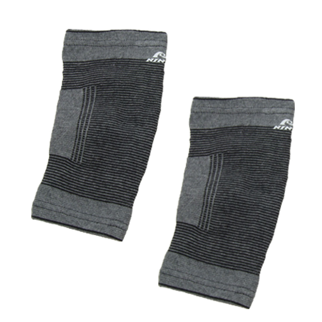 Gray Sports 2PCS Elbow Joint Support Protector Size L
