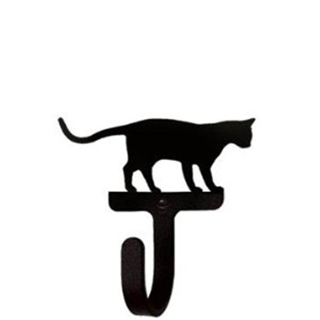 Small Wall Hook - Cat at Play - Black - image 1 of 1