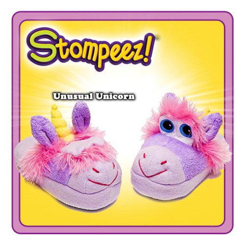 Idea Village Products STUNICRN-SM Stompeez Slippers, Unicorn, Small