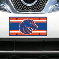 Boise State Broncos Super Stripe Acrylic Laser-Cut License Plate