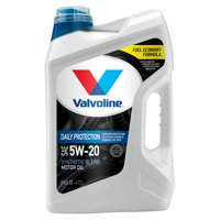 Valvoline Premium Conventional 5W-20 Motor Oil, 5 Quarts