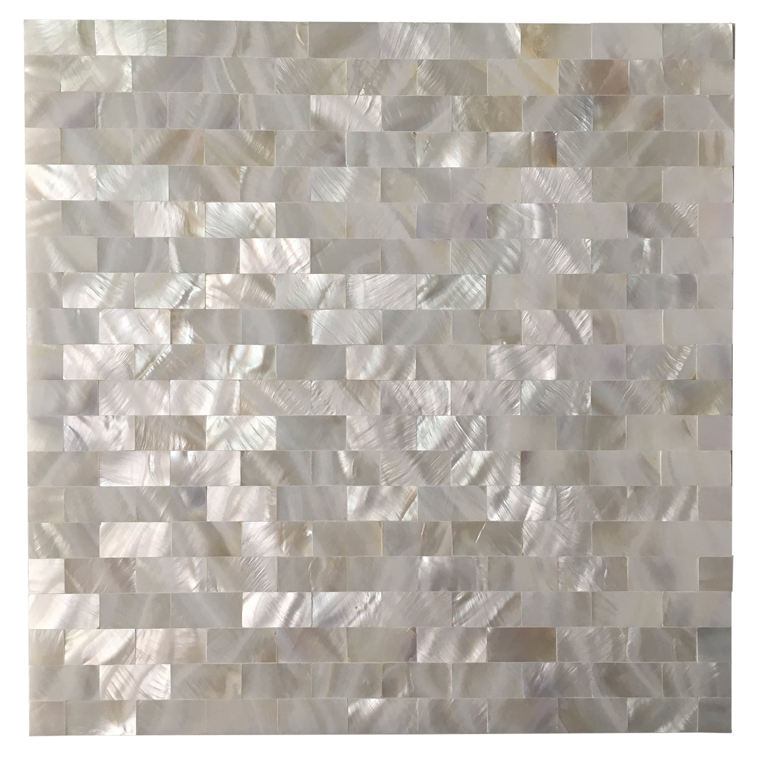 Art3d Mother Of Pearl White Shell Mosaic Tile For Kitchen