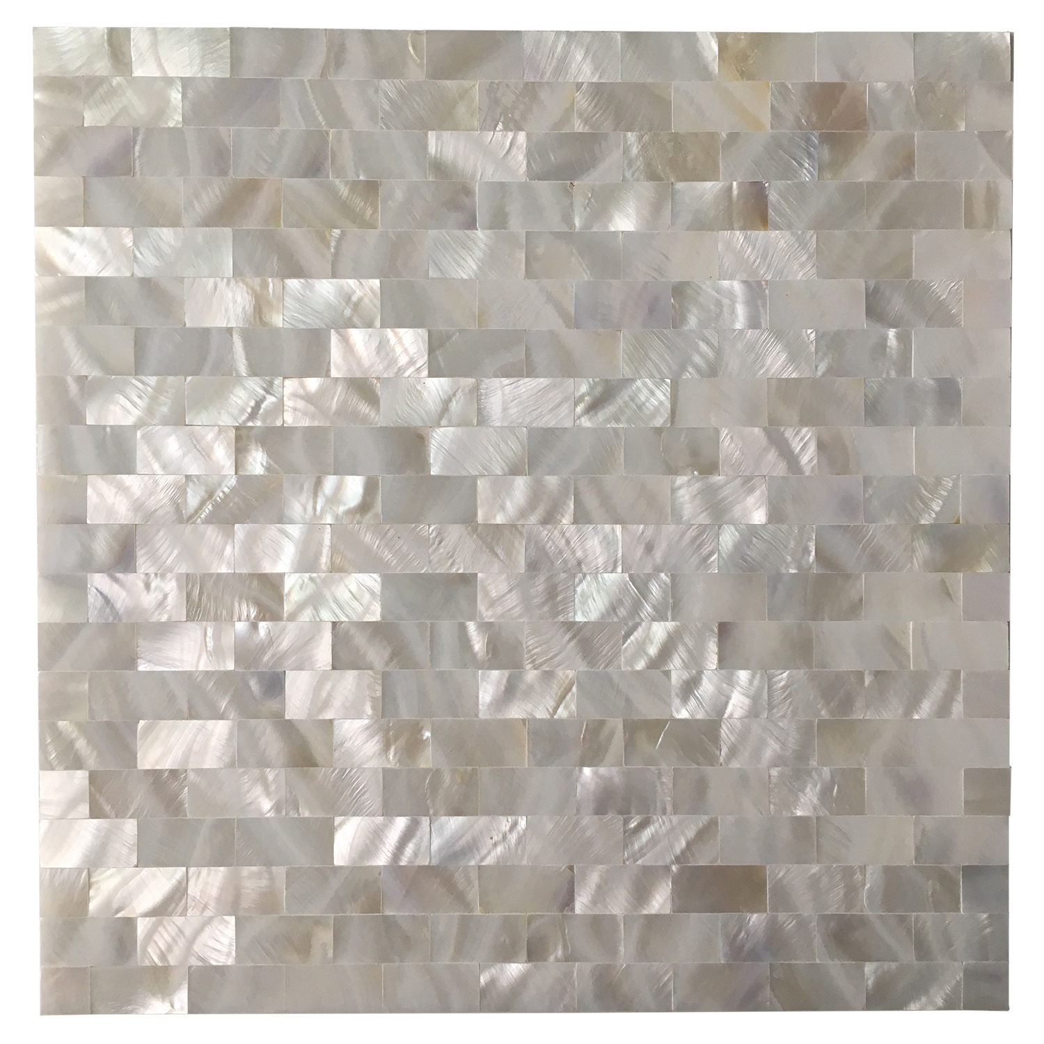 "Art3d Mother of Pearl White Shell Mosaic Tile for Kitchen Backsplashes, Bathroom Walls, Spas, Pools, 12"" x 12"" Seamless"