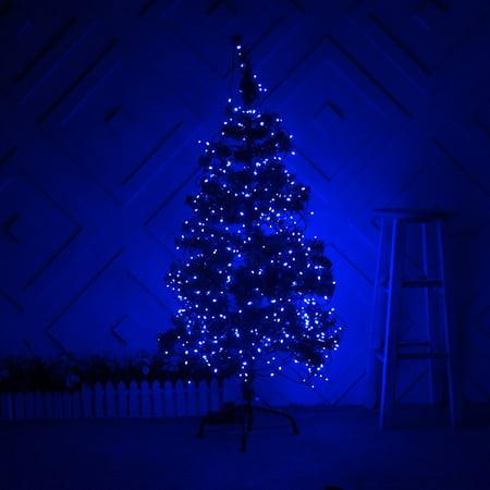 Weanas Solar Power String Fairy Lights 200 Leds Blue Color 72 Feet 22M Solar Energy For Indoor Outdoor Home Garden Christmas Wedding Party