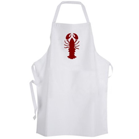 Aprons365 - Classic Red Lobster (B) Apron Marine Animal Seafood Chef Cook Kitchen - Lobster Chef