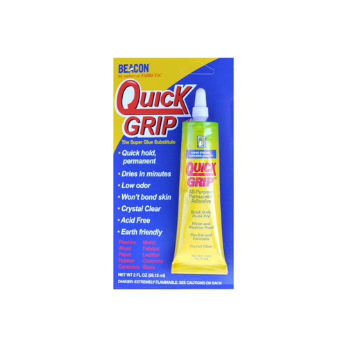 Beacon Quick Grip Glue 2oz Carded by Generic