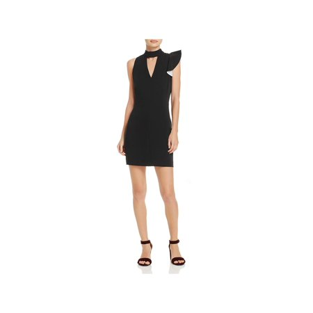 Adelyn Rae Womens Charlotte One Shoulder Mini Party