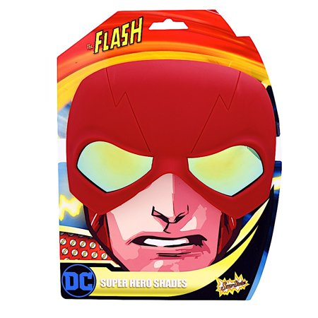 Party Costumes - Sun-Staches - DC Comics Flash Head Mask Sun-Stachessg2687 - Flash Mask
