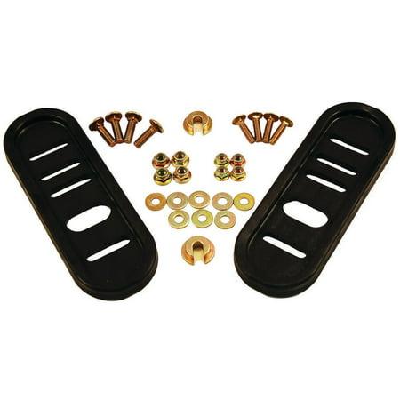 Image of MTD Brands Snow Thrower Poly Slide Shoe Kit 490-241-0010