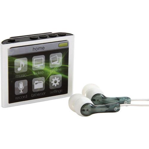 Polaroid PMP 120-4 4GB MP3 Player, Silver