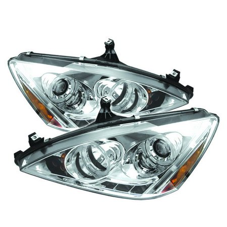 - Sonar Halo Projector Headlights - 03- 05 Honda Accord