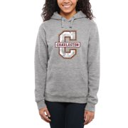 Charleston Cougars Women's Classic Primary Pullover Hoodie - Ash -