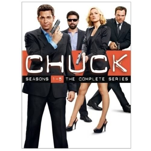 CHUCK-COMPLETE SERIES COLLECTOR SET (DVD/23 DISC/WS-16X9/5PK)