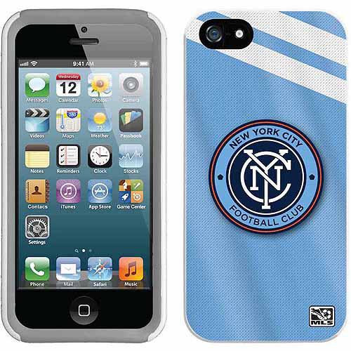 New York City FC Jersey Design on Apple iPhone 5SE/5s/5 New Guardian Case by Coveroo