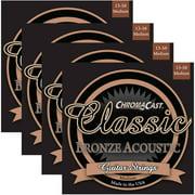 ChromaCast Classic Bronze Acoustic Guitar Strings