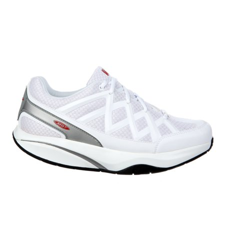 6f622a70cf39 MBT Shoes Men s Sport 3 Comfort Width Athletic Shoe  8 Wide (2E) White Mesh  Lace