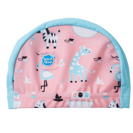 Metallic Nylon Hat - Baby and Toddler Nylon Lycra Swim Hat / Cap Nina's Ark 0-18 Months