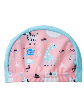 f728cef81d11b Product Image Baby and Toddler Nylon Lycra Swim Hat   Cap Nina s Ark 0-18  Months