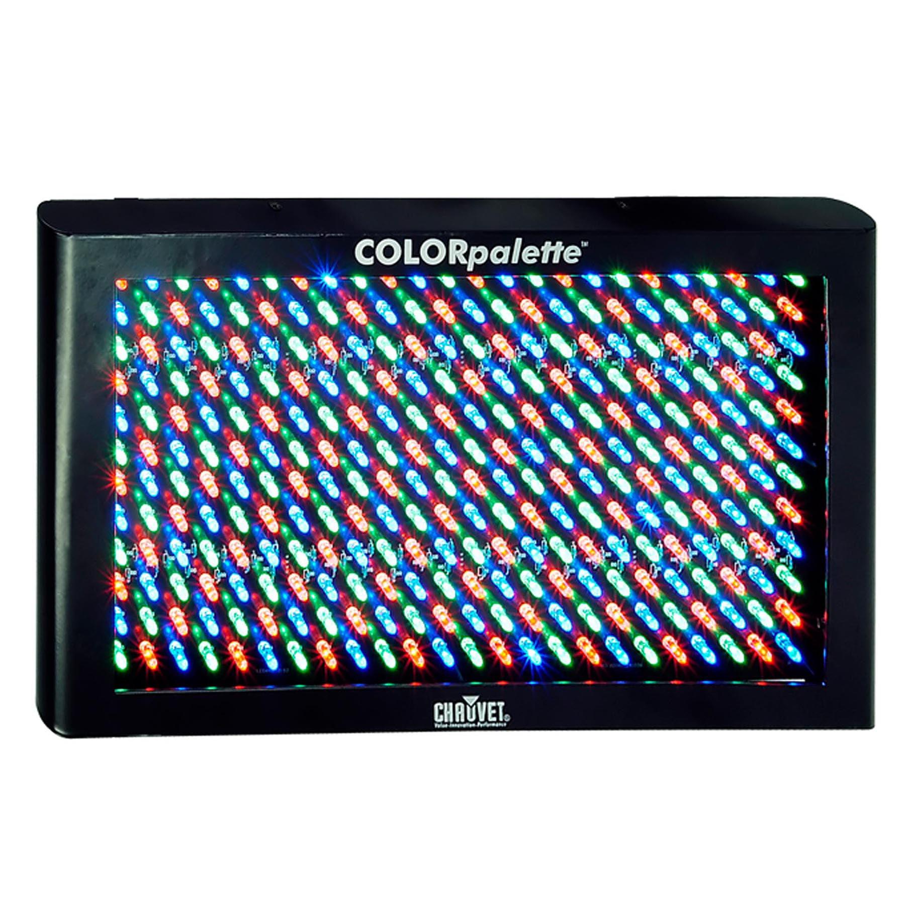 Chauvet DJ COLORpalette LED RGB 27 Channel DMX Wash/Colorful Panel Stage Light