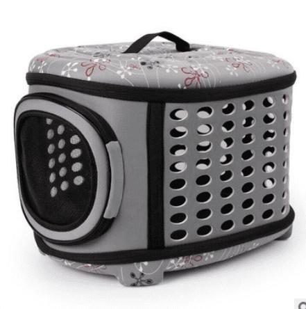 Pet Dog Cat Carrier Sided Foldable Travel Tote Shoulder Bag Portable Cage Kennel Gift