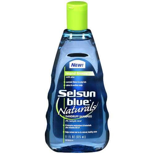 Selsun Blue Island Breeze w/Aloe Dandruff Shampoo, 11 fl oz