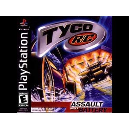 Tyco RC Assault with a Battery - Playstation PS1 (App To Play Music Through Radio Station)