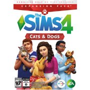 The Sims 4 Cats & Dogs Expansion Pack, Electronic Arts, PC, 014633368871
