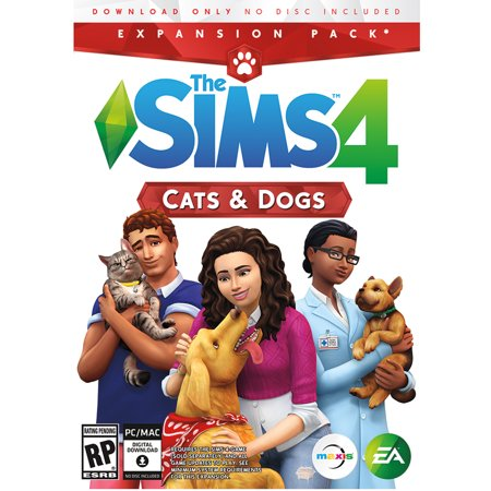 The Sims 4 Cats & Dogs Expansion Pack, Electronic Arts, PC,
