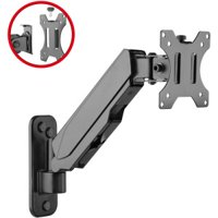 """SIIG Mounting Arm for Monitor - 32"""" Screen Support - Black"""