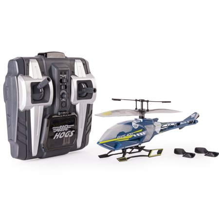 Air Hogs, Axis 400x, 4 Channel RC Helicopter, Grey, by Spin