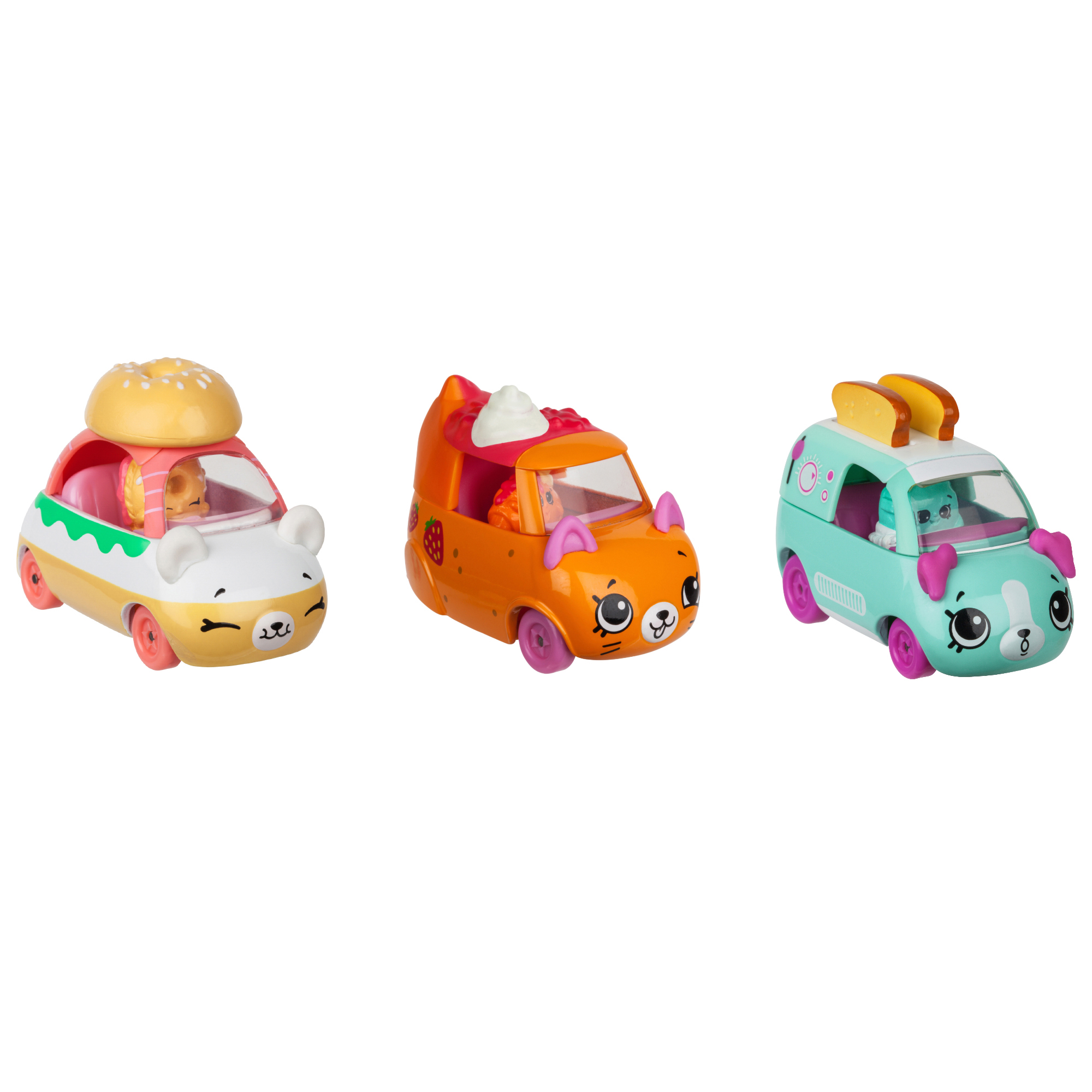 License 2 Play - Cutie Car 3 Pack, Breakfast Beeps