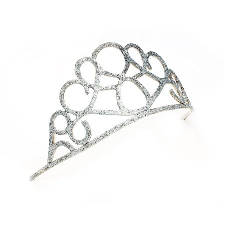 Sunnywood Gorgeously Gleaming Glitter Tiara Adult Costume Accessory - Costume Crowns And Tiaras
