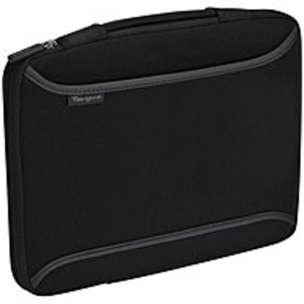 """Targus 13.3"""" Slipcase with Handle - Notebook carrying case - 13.3"""" - gray, black"""