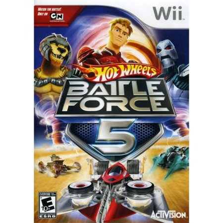 Hot Wheels: Battle Force 5 - Nintendo