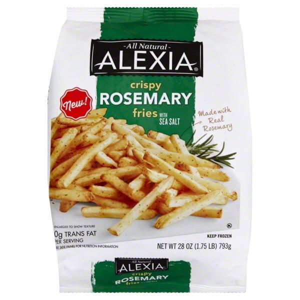 8/28 OZ ALEXIA® 5/16 RC Rosemary Fries