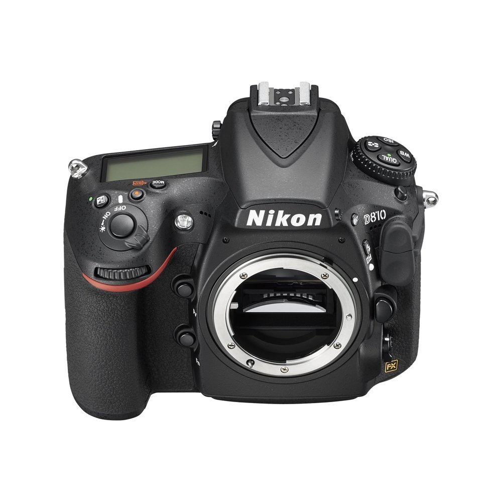 Nikon D810 - Digital camera - SLR - 36.3 MP - Full Frame - 1080p - 5x optical zoom AF-S 24-120mm lens - black