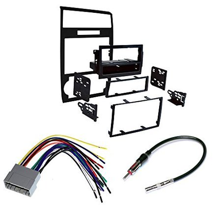 DODGE 2006 - 2007 CHARGER CAR CD STEREO RECEIVER DASH INSTALL MOUNTING KIT WIRE HARNESS (2014 Dodge Charger Stereo)