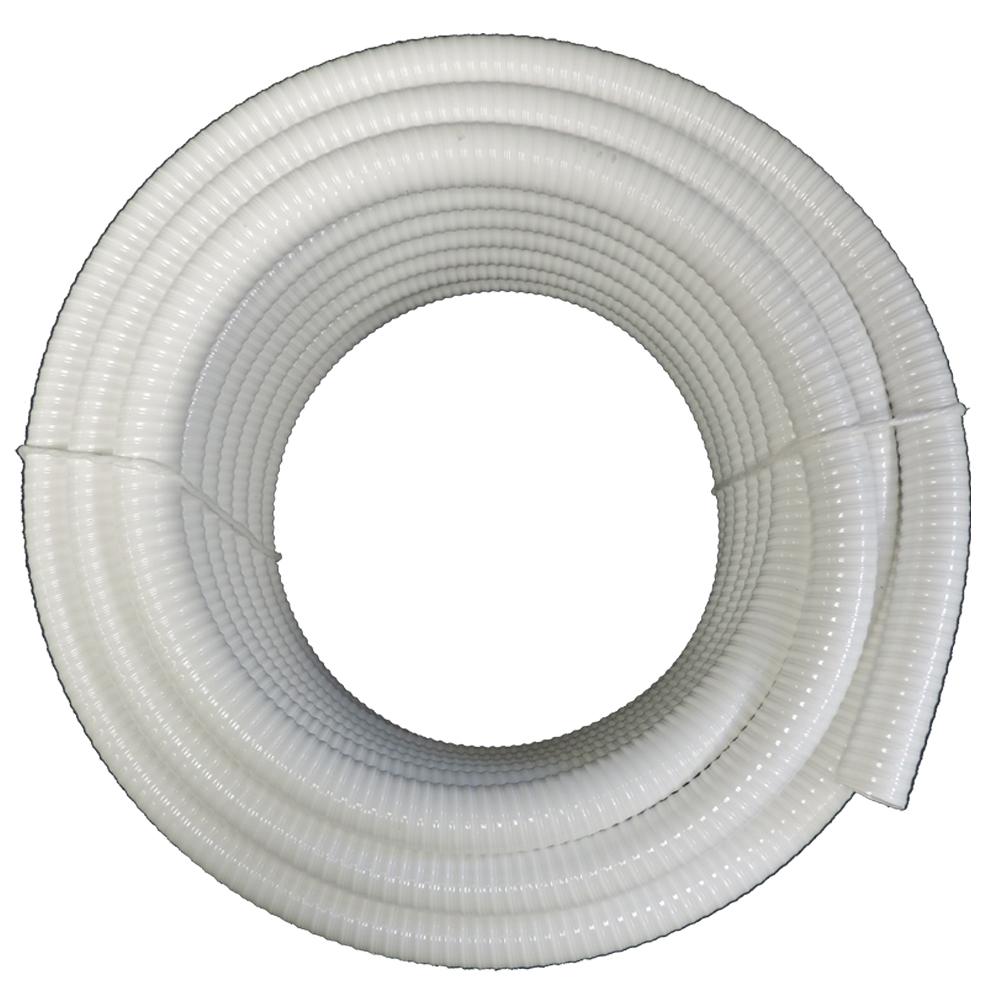 "1 1/2"" Dia x 100 ft - White Schedule 40 Flexible PVC Pipe..."