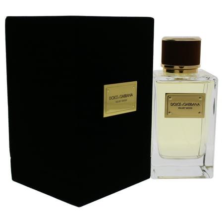 Velvet Wood by Dolce & Gabbana for Men - 5 oz EDP Spray