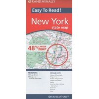 Rand mcnally easy to read! new york state map - folded map: 9780528881923