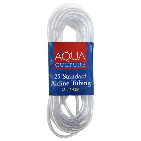 Aqua Culture Airline Tubing Fish Tank Tubing  25 Ft