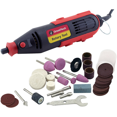 Great Neck Saw 80134 36-Piece Rotary Tool Set
