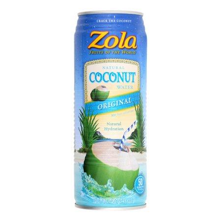 Zola Zola Coconut Water 17 5 Oz Walmart Com
