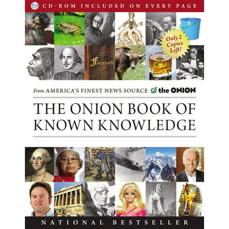 The Onion Book of Known Knowledge : A Definitive Encyclopaedia Of Existing - The Onion In The Know Halloween