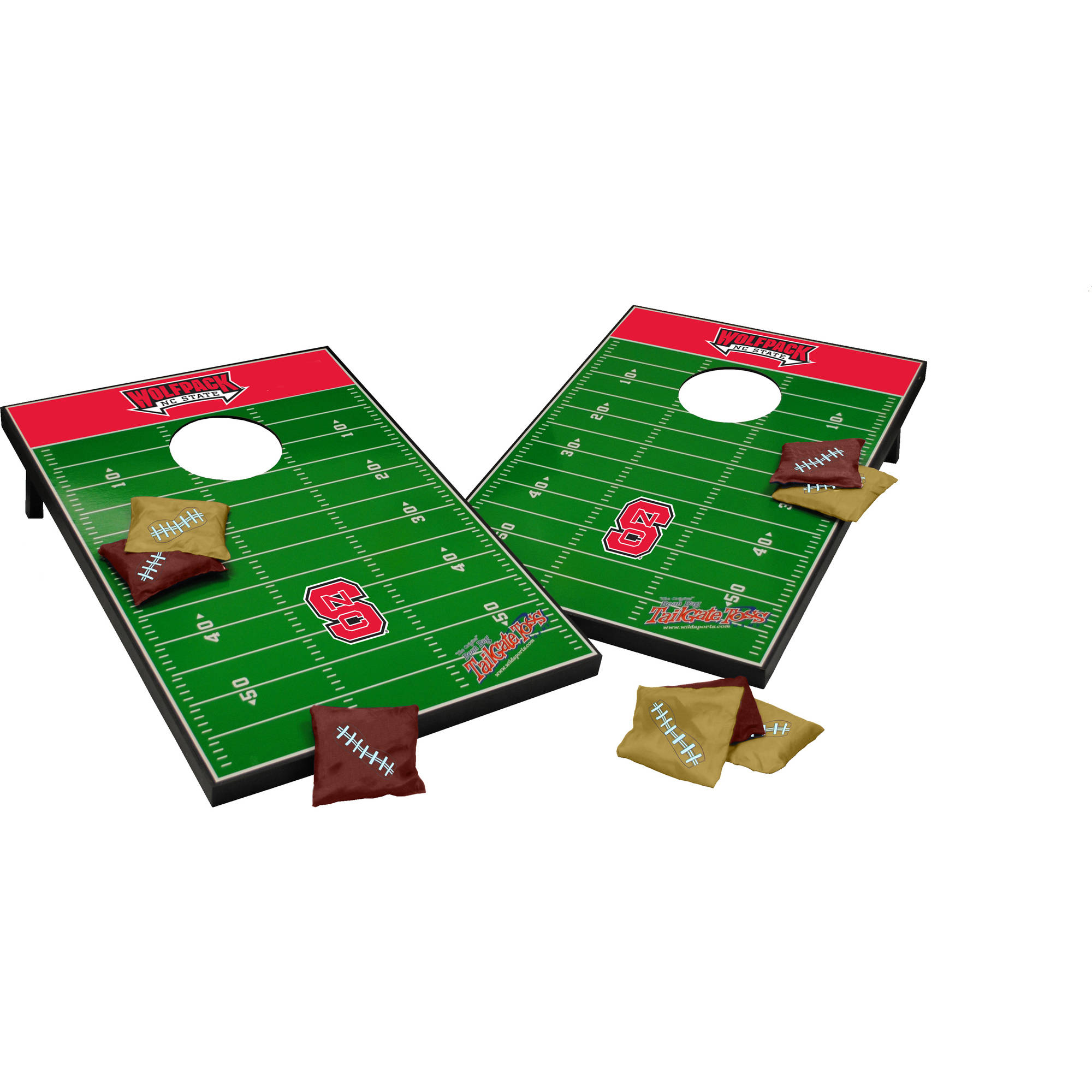 Wild Sports Collegiate NC State Wolfpack 2x3 Field Tailgate Toss by Wild Sports