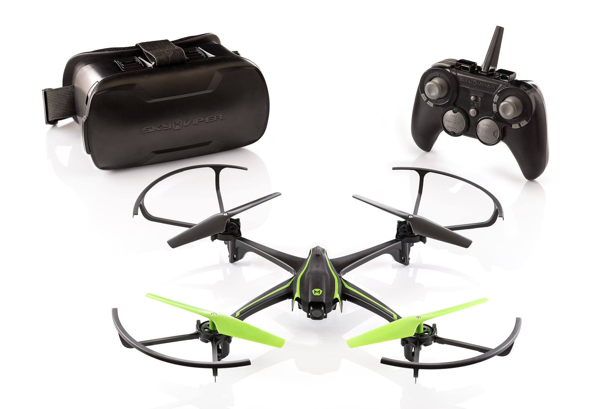 Sky Viper V2450 HD Video Streaming Drone with FPV by SKYROCKET TOYS LLC
