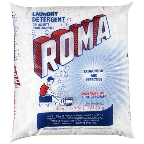 Roma Powder Laundry Detergent, 11 lbs
