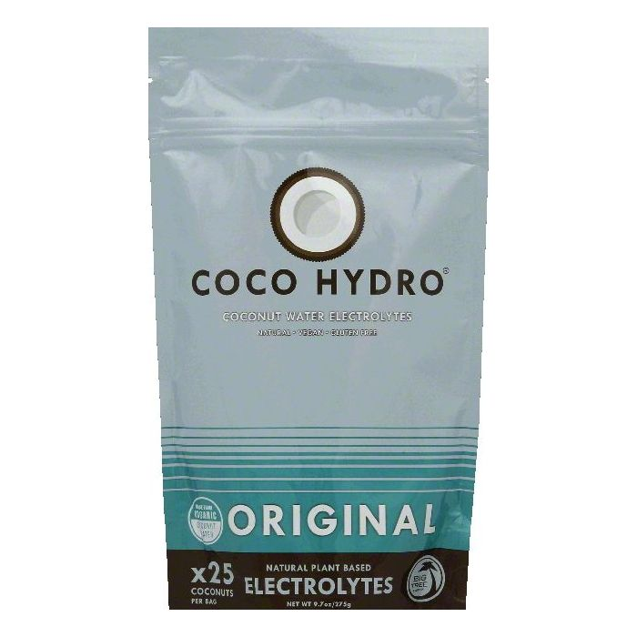 DISCOED Coco Hydro Original Coconut Water Electrolytes, 9.7 OZ (Pack of 6)