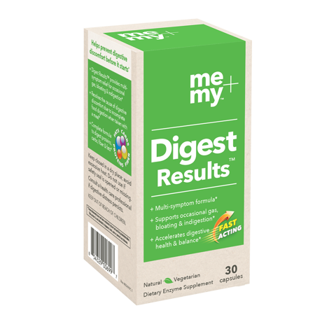 Me + My Digest Results All-Natural Digestive Enzyme Supplement,