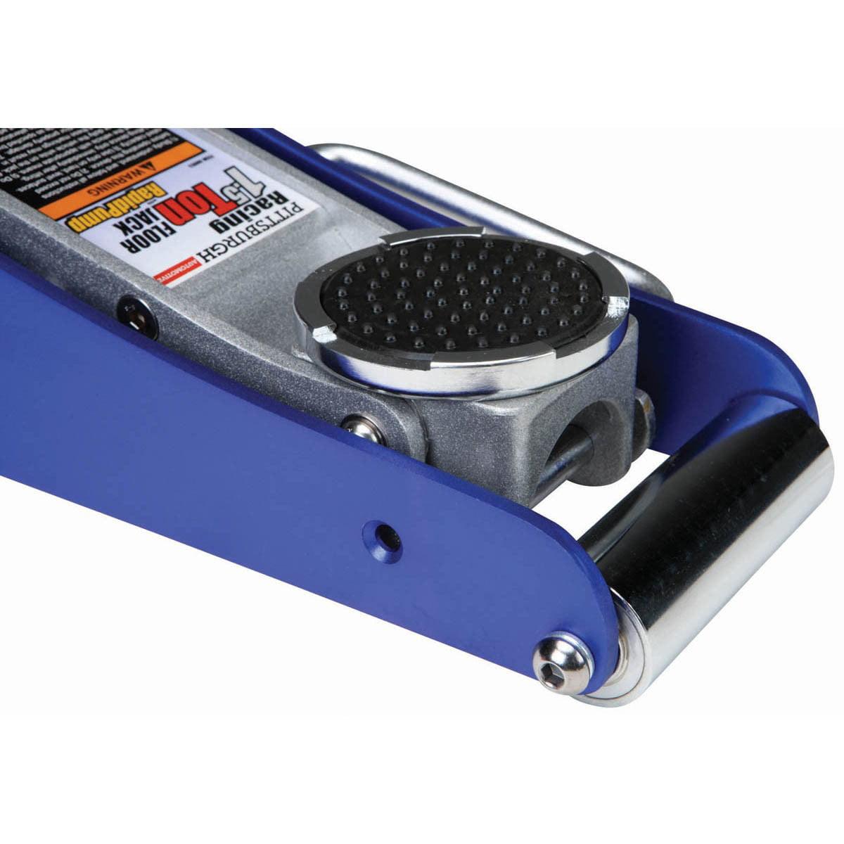 Pittsburgh Floor Jack 1 5 Ton Aluminum Racing Rapid 3 1 2 Pump Adjustable 60569 Walmart Com Walmart Com